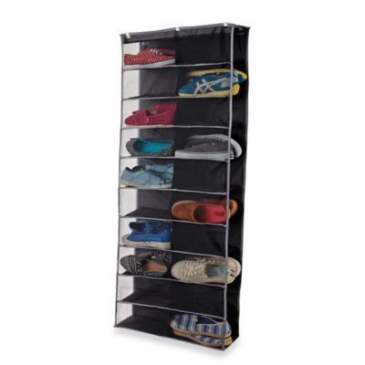 Door Mounted Shoe Storage