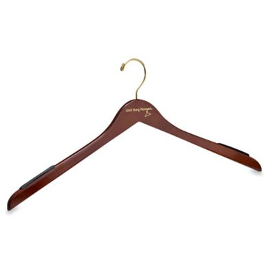 Well Hung Hangers 22-Inch Big & Tall Men's Shirt and Jacket Hanger