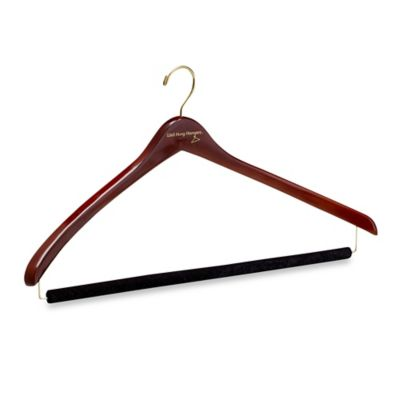 Well Hung Hangers 19-1/2-Inch Men's Large Suit Hanger