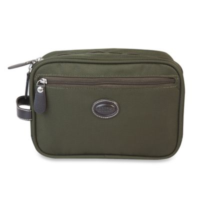 Bric's Pronto Shave Case in Olive