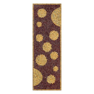 Chrysanthemum Mosaic Wall Panel