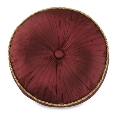 Waterford® Linens Bellwood Round Throw Pillow