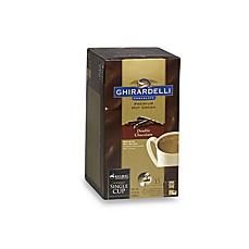 K-Cup® Ghirardelli® Double Chocolate Premium Hot Cocoa for Keurig® Brewers - 15 Count