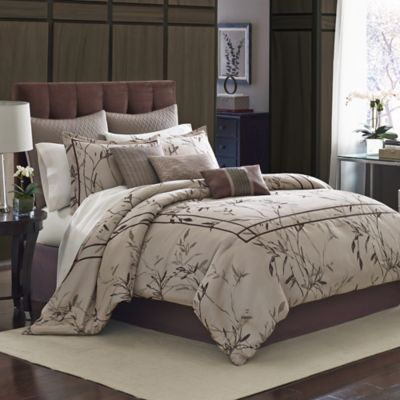 Manor Hill® Aston 8-Piece Full Comforter Set