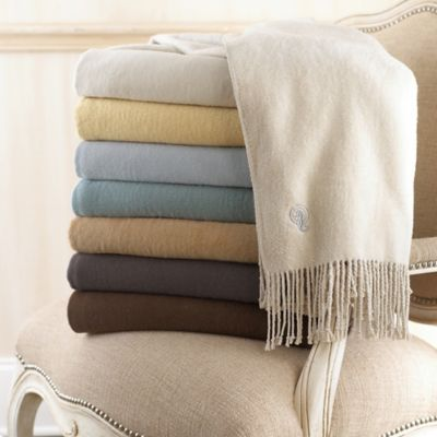 Waterford® Linens Connemara Silk Throw in Crystal Blue