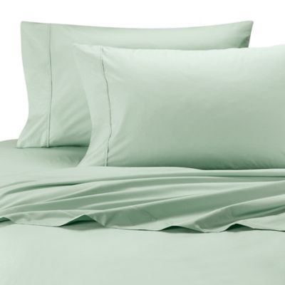 Ultimate Percale Egyptian Cotton Full XL Sheet Set in Sage