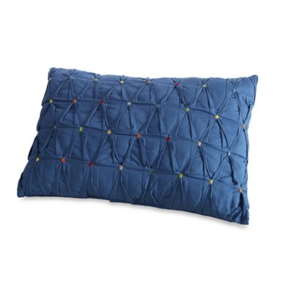 Fiesta® Calypso Embroidered Dot Oblong Toss Pillow