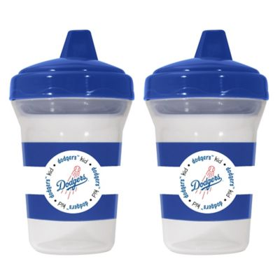 Baby Fanatic® MLB Los Angeles Dodgers 2-Pack 5 oz. Sippy Cup
