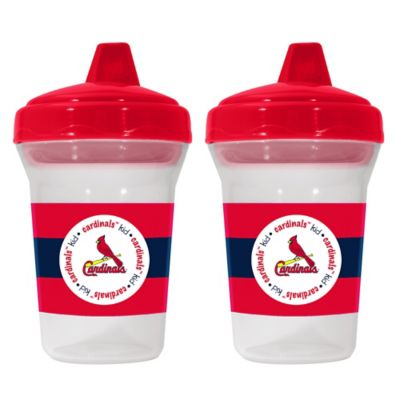 Baby Fanatic® MLB St. Louis Cardinals 2-Pack 5 oz. Sippy Cup
