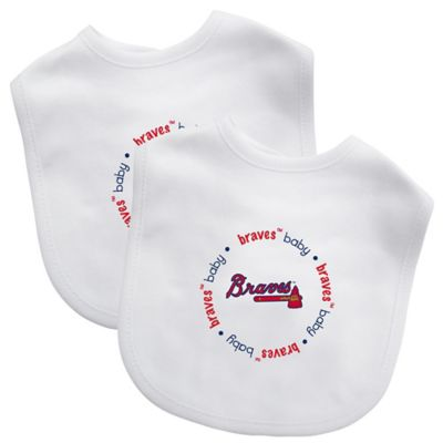Baby Fanatic® MLB Atlanta Braves 2-Pack Bib