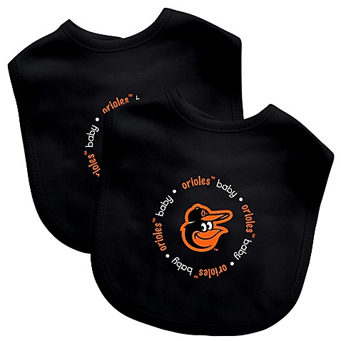 Buy Baby Fanatic® MLB Baltimore Orioles 2-Pack Bib from ...