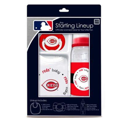 Baby Fanatic® MLB Cincinnati Reds Baby Essentials Gift Set
