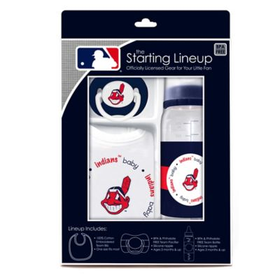 Baby Fanatic® MLB Cleveland Indians Baby Essentials Gift Set