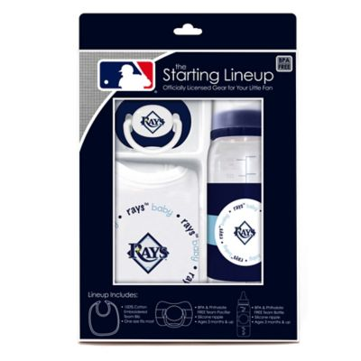 Baby Fanatic® MLB Tampa Bay Rays Baby Essentials Gift Set