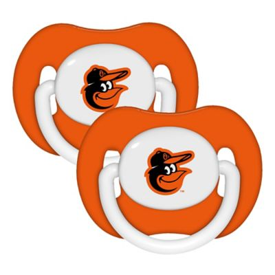 Baby Fanatic® MLB Baltimore Orioles 2-Pack Pacifiers