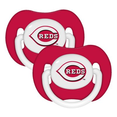Baby Fanatic® MLB Cincinnati Reds 2-Pack Pacifiers