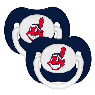 Baby Fanatic® MLB Cleveland Indians 2-Pack Pacifiers