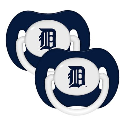 Baby Fanatic® MLB Detroit Tigers 2-Pack Pacifiers