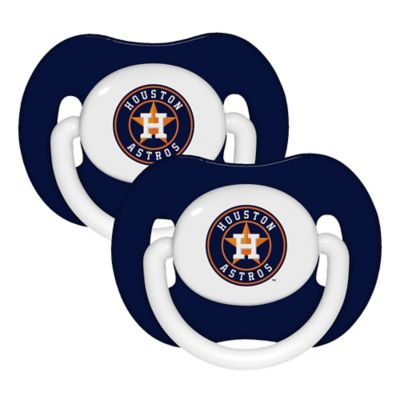 Baby Fanatic® MLB Houston Astros 2-Pack Pacifiers