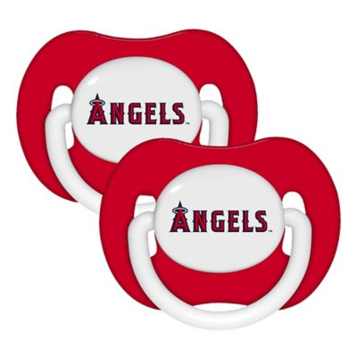 Baby Fanatic® MLB Los Angeles Angels 2-Pack Pacifiers
