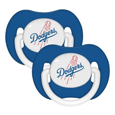 Baby Fanatic® MLB Los Angeles Dodgers 2-Pack Pacifiers