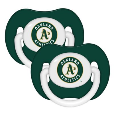 Baby Fanatic® MLB Oakland A's 2-Pack Pacifiers