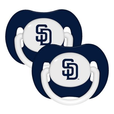 Baby Fanatic® MLB San Diego Padres 2-Pack Pacifiers