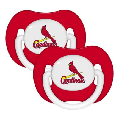 Baby Fanatic® MLB St. Louis Cardinals 2-Pack Pacifiers