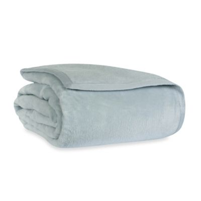 Wamsutta® Collection Cashmere Soft Twin Blanket in Seafoam