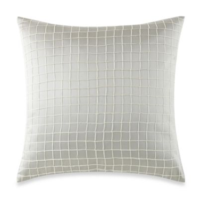 Waterford® Linens Kinsale Grid Square Throw Pillow