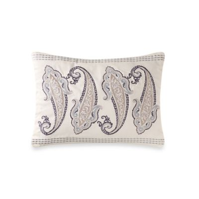 Laura Ashley® Whitfield Paisley Breakfast Throw Pillow