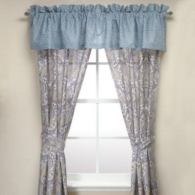 Laura Ashley® Whitfield Pole Top 84-Inch Window Panel Pair
