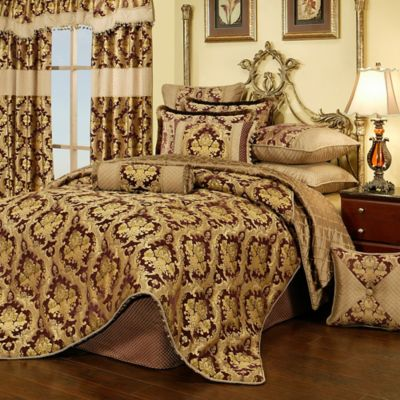 Dark Purple Comforter Set