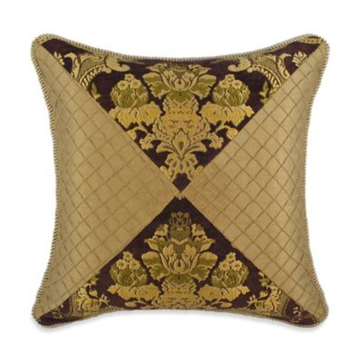 Austin Horn Classics Elizabeth Square Throw Pillow