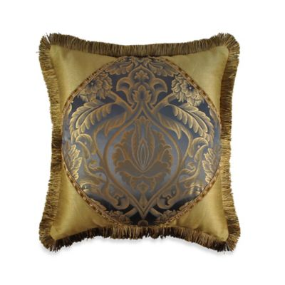Austin Horn Classics Fountain Blue Square Throw Pillow