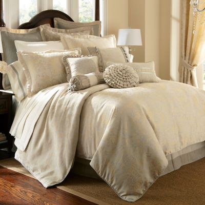 Waterford® Linens Lysander Reversible Queen Duvet Cover