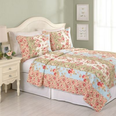 Rose De Mai King Quilt Set