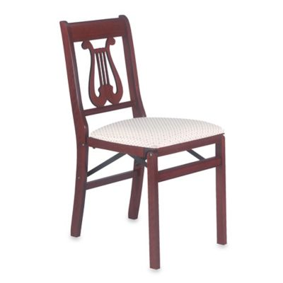 Music Back Folding Chair