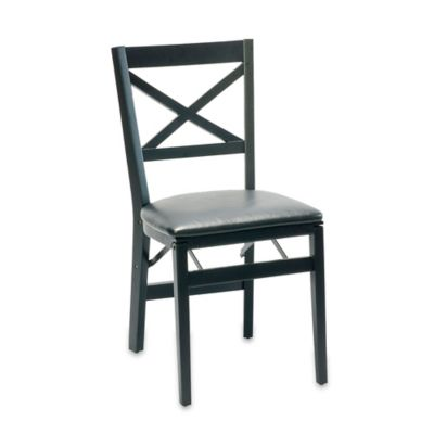 buy folding chairs from bed bath beyond. Black Bedroom Furniture Sets. Home Design Ideas