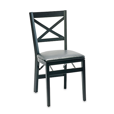 Buy X Back Wood Folding Chair From Bed Bath Amp Beyond