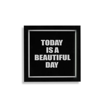 Today Beautiful Day Wall Art