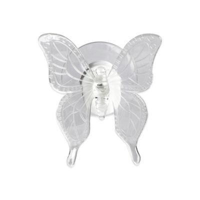 Color Changing Lighted Acrylic Butterfly Window Light