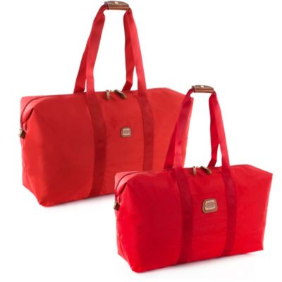 Bric's X-Bag 18-Inch Folding Duffle in Red