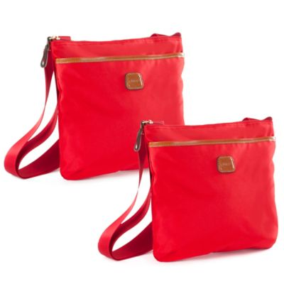 Bric's X-Bag Small Urban Envelope in Red