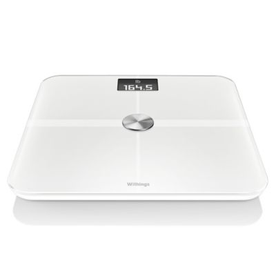 Withings Smart Body Analyzer Bathroom Scale in White