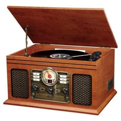 6-in-1 Nostalgic Bluetooth® Entertainment Center