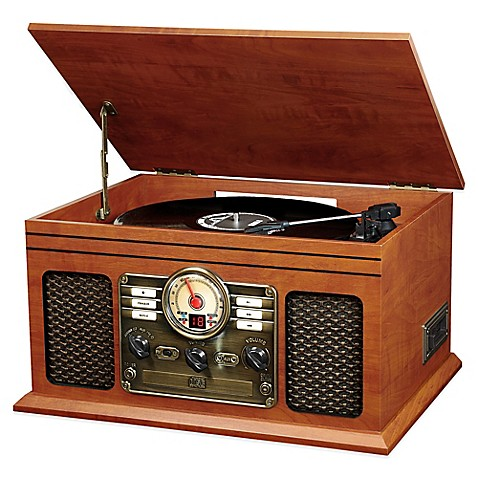 Buy Victoria Wooden 6 In 1 Nostalgic Record Player With BluetoothR And 3 Speed Turntable From