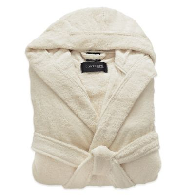 Kassatex Contempo Bathrobe in Ecru