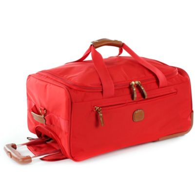 Bric's X-Bag 28-Inch Rolling Duffle in Red
