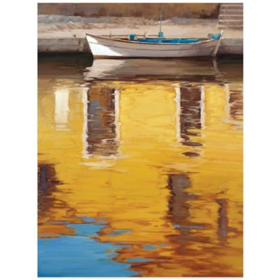 Yellow Reflections Wall Art